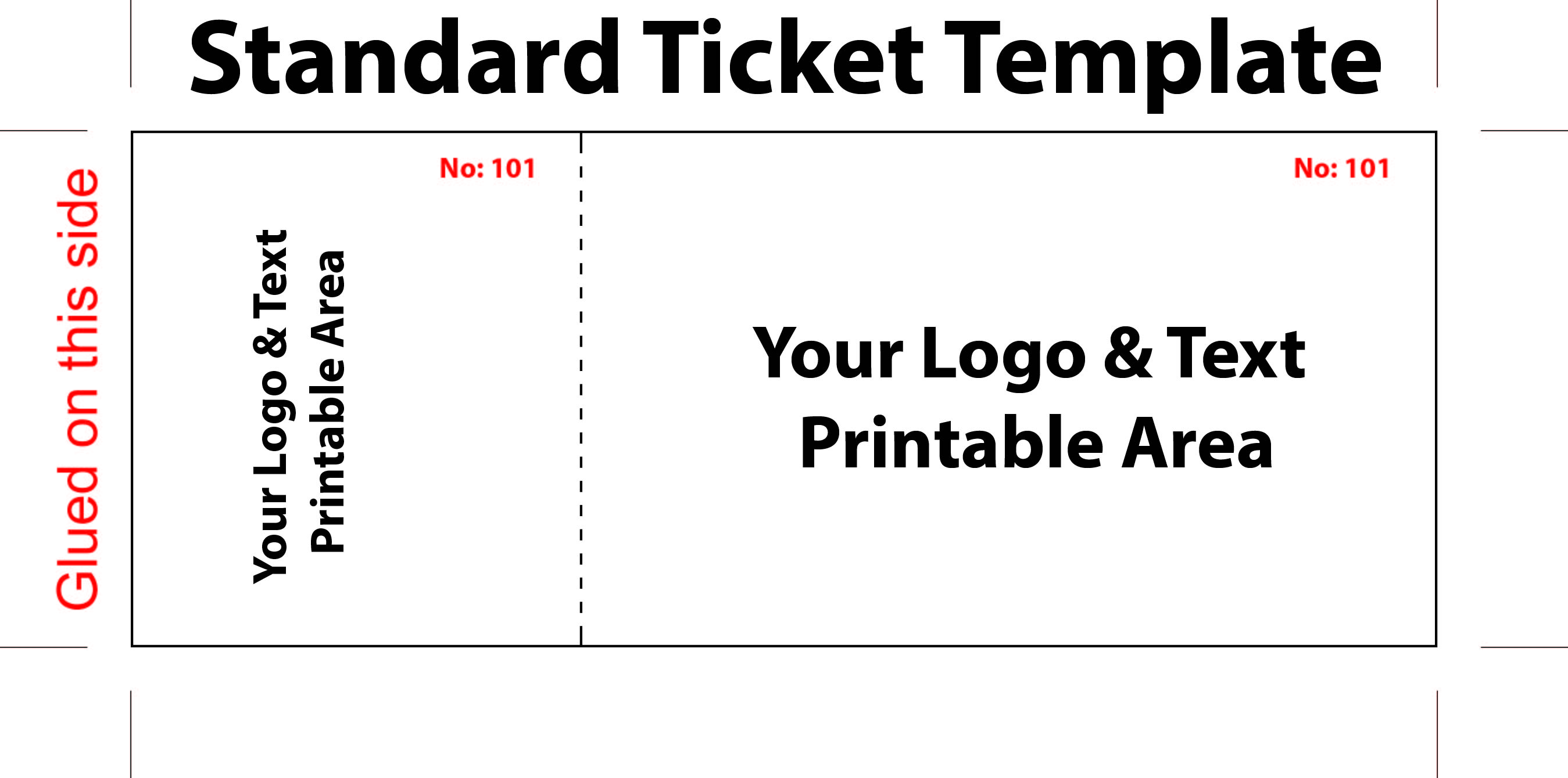 image about Free Printable Raffle Ticket Template Download called Cost-free Occasion Ticket Templates Templates Obtain